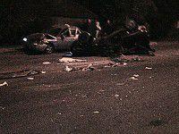 Ночное ДТП: на Шевченковском две легковушки превратились в груду металла
