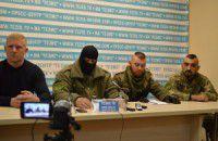 В Запорожье обосновались бойцы бывшего батальона «Шахтерск»