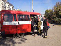 Фото: К приезду Порошенко «заминировали» горсовет и центральный вокзал