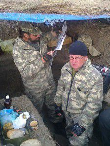 Запорожскому журналисту отправили посылку в зону АТО: пока без тепловизора