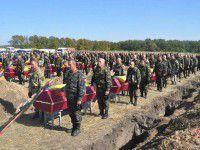 Сепаратисты в зоне АТО похоронили запорожских солдат