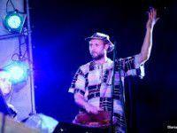 Запорожские музыканты дали концерт с воздушного шара (Видео)