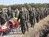 Россиянка приедет искать на запорожском кладбище останки земляков