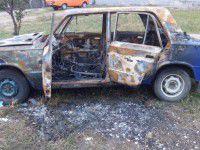 Фотофакт: На Матросова сгорела легковушка