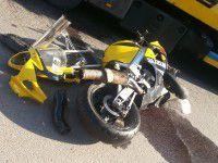 Свидетель: Мотоциклист без шлема погиб в аварии на Грязнова (Фото)
