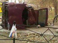 В Запорожье «Таврия» вылетела на тротуар — пострадала маленькая девочка