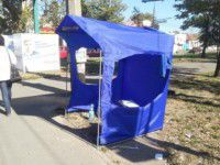 В Запорожье снова напали на агитаторов от оппозиции