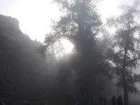 Утреннее фото: Чарующая Хортица в дымке