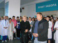 В запорожской облбольнице бунтуют против Шишки