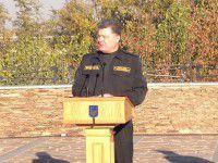 Порошенко представил на Хортице нового Министра обороны
