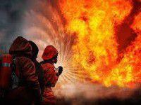 В курортном городе на пожаре погиб пожилой мужчина