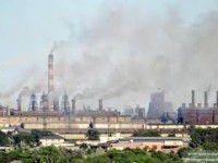 Завод на Кичкасе накажут за выбросы