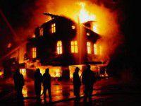 В запорожском селе в своем доме сгорел мужчина