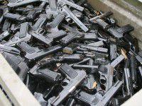 Сотрудники УБОП перекрыли крупный канал доставки оружия