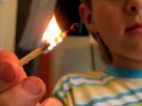 В Запорожье ребенок едва не сжег себя вместе с бабушкой