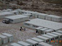 В Запорожье полностью готовы 5 домиков для беженцев (Фото)