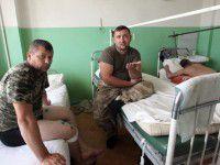 «Киборги», лечащиеся в запорожской больнице, нуждаются в общении