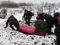 В Запорожье похоронили самообороновца