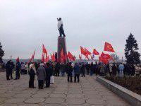 Запорожские коммунисты променяли Дзержинского на Ленина (Фото)
