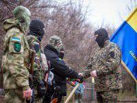 Сотня Самообороны Запорожья приняла присягу на Хортице
