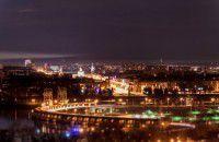 Запорожье в свете ночных огней (Фото)
