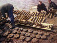 На Кичкасе нашли несколько десятков боеприпасов