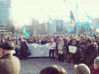 Запорожцы поздравляют друг друга с годовщиной Майдана и делятся воспоминаниями