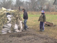В Запорожской области мальчишки организовали свой блокпост