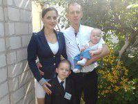 Запорожские погорельцы остались на улице с двумя маленькими детьми