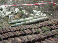 Запорожские спасатели обезвредили современные снаряды