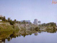 Утреннее фото: лето на Хортице почти полвека назад