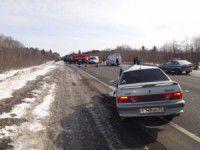 На запорожской трассе междугородняя маршрутка попала в ДТП
