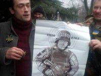 Актер из Запорожья привез  снайперам фото Пореченкова