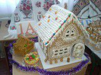 Запорожские школьники построили из пряников город
