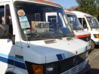 В Мелитополе маршрутчики второй день не возят пассажиров