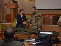 В запорожской прокуратуре отметили свой праздник покупкой спальников