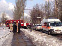 Из Орджоникидзевской райадминистрации эвакуировали людей