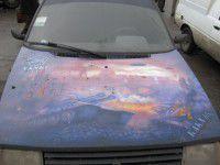 Житель Запорожской области сделал из «Таврии» танкомобиль