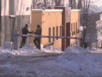 В Запорожье возле областной прокуратуры уберут шлагбаум