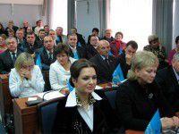 В Бердянске сорвали заседание сессии