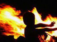 В частном доме сгорели трое малышей
