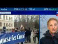 Российский телеканал: в Запорожье радикалы пытались захватить власть (Видео)