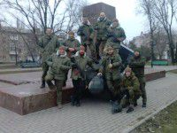 Стало известно, кто свалил Ленина в Бердянске