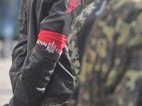 На запорожском блокпосту остановили бойцов Правого сектора на угнанном эвакуаторе
