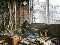 Запорожским бойцам, обороняющим Донецкий аэропорт, требуется помощь