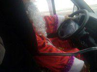 Запорожцев возит Дед Мороз