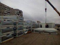 В Запорожье опечатывают домики для переселенцев