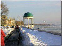 В Бердянске молодой парень провалился под лед