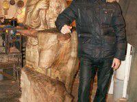 Запорожец собирает деньги на скульптуру, которую хочет поставить в парке
