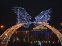 1 января в Запорожье открывается новогодний городок